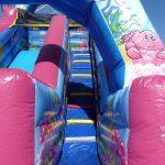 otroški park JumpyLand Adria Ankaran - napihljiva igrala, trampolin, kotiček za najmlajše, rojstni dan, zabava