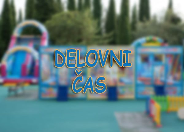 otroški park JumpyLand Adria Ankaran - napihljiva igrala, trampolin, kotiček za najmlajše, rojstni dan, zabava, urnik - delovni čas